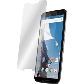 2x Nexus 6 klar Glasfolie