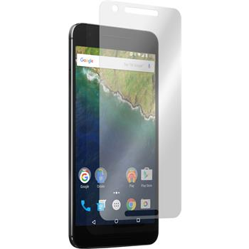 2 x Google Nexus 6P Displayschutzfolie matt