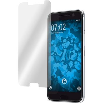 2 x HTC 10 Schutzfolie klar
