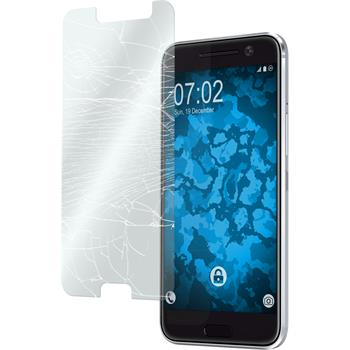 2 x HTC 10 Protection Film Tempered Glass clear