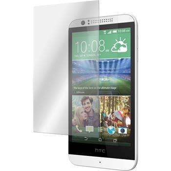 2 x HTC Desire 510 Protection Film Tempered Glass Clear