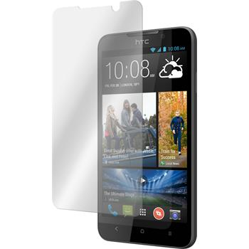2 x HTC Desire 516 Protection Film Tempered Glass Clear