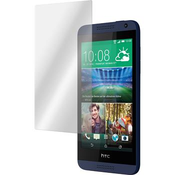 2 x HTC Desire 610 Protection Film Tempered Glass Clear