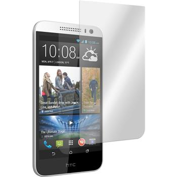 2 x HTC Desire 616 Protection Film Tempered Glass Clear