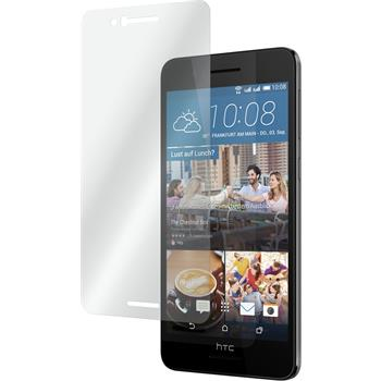 2 x HTC Desire 728 Protection Film Tempered Glass clear
