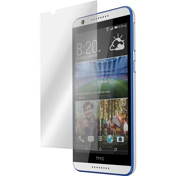 2 x HTC Desire 820 Protection Film Tempered Glass Clear