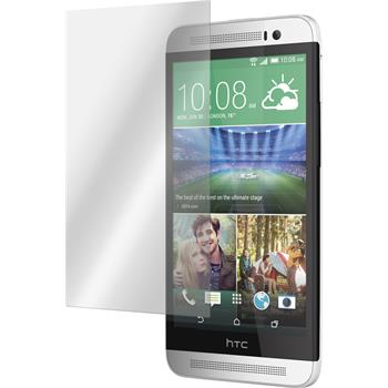 2 x HTC One E8 Protection Film Tempered Glass Clear