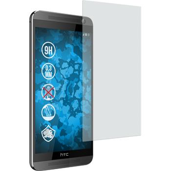 2 x HTC One E9+ Protection Film Tempered Glass Anti-Glare