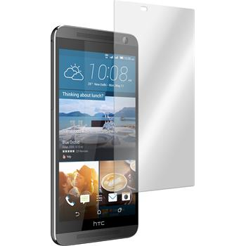 2 x HTC One E9+ Protection Film Tempered Glass Clear