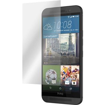 2 x HTC One M9 Displayschutzfolie matt