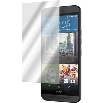 2 x HTC One M9 Displayschutzfolie verspiegelt