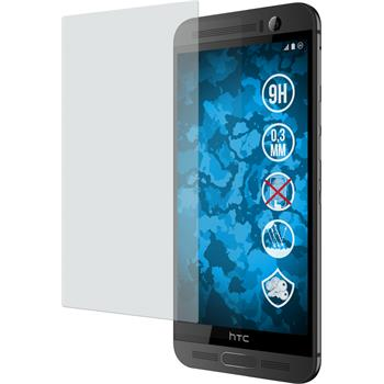 2 x HTC One M9 Plus Protection Film Tempered Glass Anti-Glare