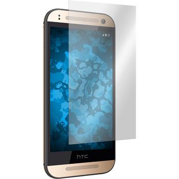 2 x HTC One Mini 2 Displayschutzfolie klar