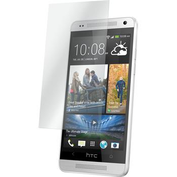 2 x HTC One Mini Protection Film Tempered Glass clear