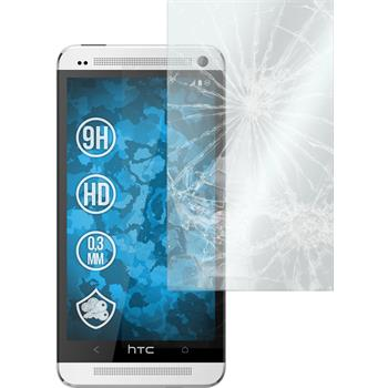 2 x HTC One Protection Film Tempered Glass