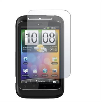 2 x HTC Wildfire S Protection Film Clear