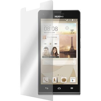 2x Ascend G6 klar Glasfolie