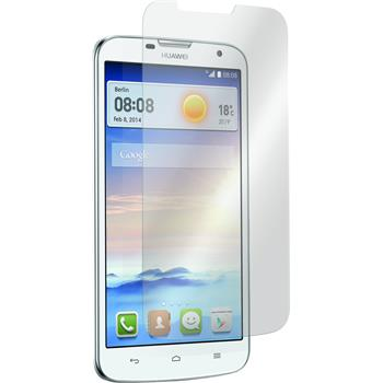 2 x Huawei Ascend G730 Protection Film Tempered Glass Clear