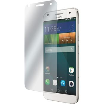 2 x Huawei Ascend G7 Displayschutzfolie klar