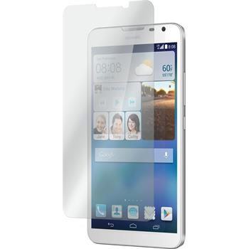 2 x Huawei Ascend Mate 2 Glas-Displayschutzfolie klar