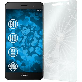 2 x Huawei Enjoy 5 Protection Film Tempered Glass clear