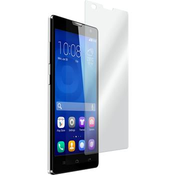 2 x Huawei Honor 3C Protection Film Tempered Glass Clear