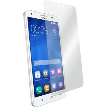 2x Honor 3X G750 klar Glasfolie