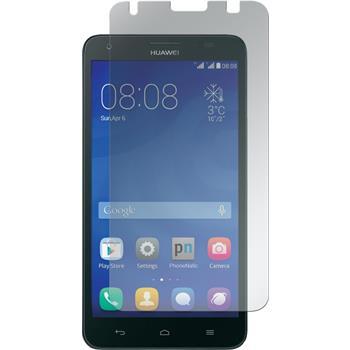 2 x Huawei Honor 3X G750 Displayschutzfolie matt