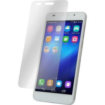 2 x Huawei Honor 4A Displayschutzfolie matt