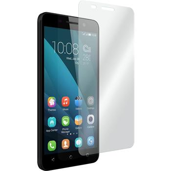 2 x Huawei Honor 4x Protection Film Tempered Glass Clear