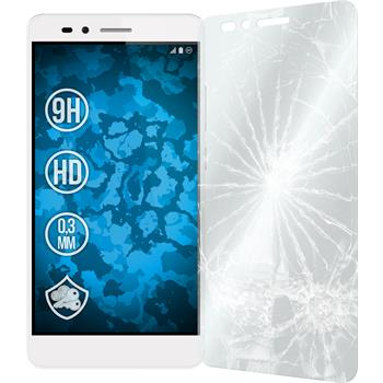 2x Honor 5X klar Glasfolie