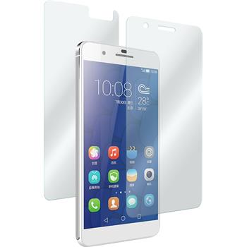 2 x Huawei Honor 6 Plus Protection Film Tempered Glass Fullbody