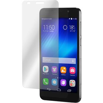 2 x Huawei Honor 6 Protection Film Tempered Glass Clear