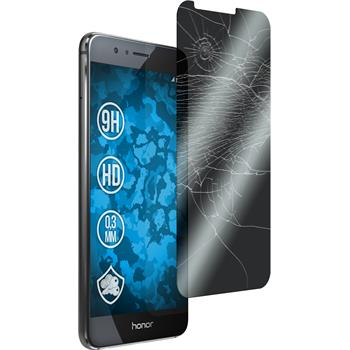 2 x Huawei Honor 8 Protection Film Tempered Glass privacy