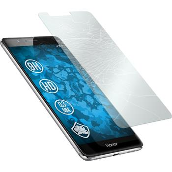 2x Honor V8 klar Glasfolie