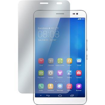 2 x Huawei MediaPad X1 Displayschutzfolie klar