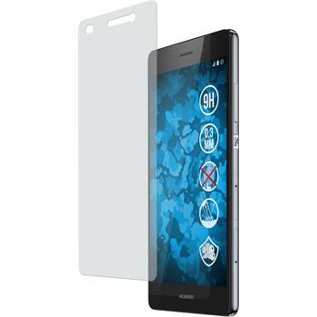 2 x Huawei P8 Lite Glas-Displayschutzfolie matt