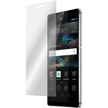 2 x Huawei P8 Protection Film Tempered Glass Clear