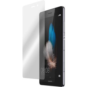 2 x Huawei P8 Lite Displayschutzfolie klar