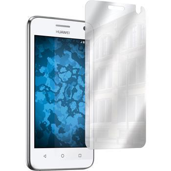 2 x Huawei Y360 Displayschutzfolie verspiegelt