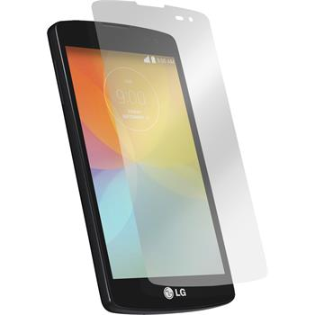 2 x LG F60 Protection Film Clear