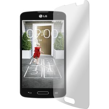 2 x LG F70 Protection Film Tempered Glass Clear