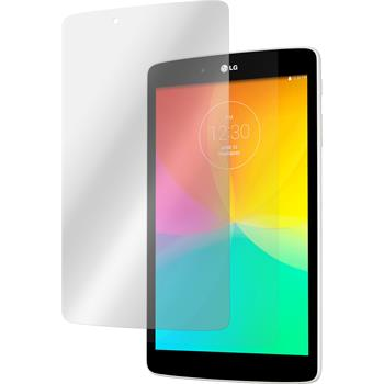 2 x LG G Pad 8.0 Protection Film Clear