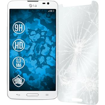 2 x LG G Pro Lite Protection Film Tempered Glass clear