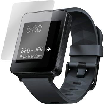 2 x G Watch Schutzfolie klar