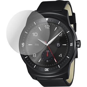 2 x G Watch R Schutzfolie klar