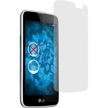 2 x LG K4 Displayschutzfolie matt