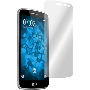 2 x LG K5 Displayschutzfolie klar