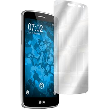 2 x LG K5 Displayschutzfolie verspiegelt