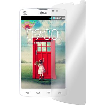 2 x LG L80 Dual Protection Film Tempered Glass Clear